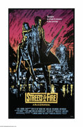 "Movie Posters:Action, Streets of Fire (Universal, 1984). One Sheet (27"" X 41""). This is avintage, theater used poster for this rock and roll fant..."