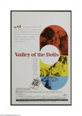 "Movie Posters:Cult Classic, Valley of the Dolls (20th Century Fox, 1967). Window Card (14"" X22""). Three young women (Barbara Parkins, Patty Duke and Sh..."