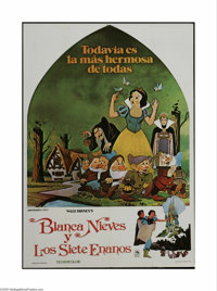 "Walt Disney Animation (Buena Vista, 1950s). Five Argentinian One Sheets (5) (29"" X 43""). Offered in this lot a..."