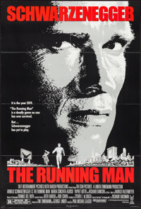 "The Running Man (Tri-Star, 1987). One Sheet (27"" X 41""). Action"