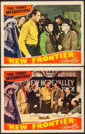 """Movie Posters:Western, New Frontier (Republic, 1939). Lobby Cards (2) (11"""" X 14""""). Western.. ... (Total: 2 Items)"""