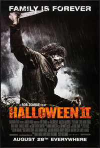 """Halloween II (Dimension, 2009). One Sheets (2) (27"""" X 40"""") SS Advance 2 Styles. Horror. ... (Total: 2 Items)"""