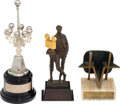 Movie/TV Memorabilia:Awards, Robert Mitchum Group of Awards (1980s-1990s)....