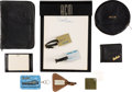 Movie/TV Memorabilia:Memorabilia, Robert Mitchum Group of Accoutrements (1950s-1980s)....