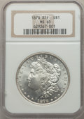 1878 8TF $1 Doubled Date, VAM-18, MS65 NGC. NGC Census: (3/1). PCGS Population: (10/1). MS65. From The East End Colle...