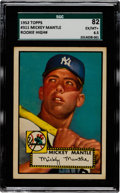 Baseball Cards:Singles (1950-1959), 1952 Topps Mickey Mantle #311 SGC 82 EX/MT+ 6.5. ...