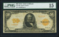 Large Size:Gold Certificates, Fr. 1198 $50 1913 Gold Certificate PMG Choice Fine 15....