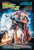 "Movie Posters:Science Fiction, Back to the Future Part III (Universal, 1990). One Sheet (26.75"" X39.75"") DS Advance. Drew Struzan Artwork. Science Fiction..."