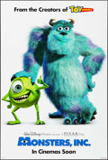 """Movie Posters:Animation, Monsters, Inc. & Other Lot (Buena Vista, 2001). One Sheets (2)(27"""" X 40"""") DS Advance. Animation.. ... (Total: 2 Items)"""