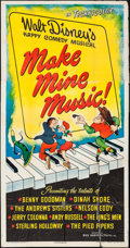 "Movie Posters:Animation, Make Mine Music (RKO, 1946). Three Sheet (41"" X 79""). Animation.. ..."
