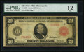 Large Size:Federal Reserve Notes, Fr. 960a $20 1914 Red Seal Federal Reserve Note PMG Fine 12.. ...