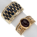 Estate Jewelry:Rings, Diamond, Multi-Stone, Gold Rings . ... (Total: 2 Items)