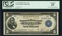 Fr. 782 $5 1918 Federal Reserve Bank Note PCGS Very Fine 25