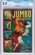 Golden Age (1938-1955):Adventure, Jumbo Comics #162 (Fiction House, 1952) CGC FN- 5.5 Off-white pages....