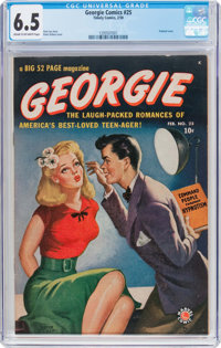 Georgie Comics #25 (Timely, 1950) CGC FN+ 6.5 Cream to off-white pages