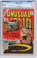 Silver Age (1956-1969):Horror, Unusual Tales #31 (Charlton, 1961) CGC VF 8.0 White pages....