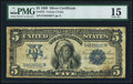 Large Size:Silver Certificates, Fr. 273 $5 1899 Silver Certificate PMG Choice Fine 15.. ...