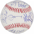 Autographs:Baseballs, 2013 Detroit Tigers Team Signed Baseball (27 Signatures).. ...