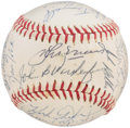 Autographs:Baseballs, 1979 Detroit Tigers Team Signed Baseball (32 Signatures).. ...