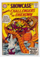 Showcase #12 Challengers of the Unknown (DC, 1958) Condition: VG+