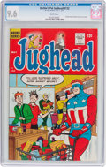 Silver Age (1956-1969):Humor, Archie's Pal Jughead #132 (Archie, 1966) CGC NM+ 9.6 White pages....