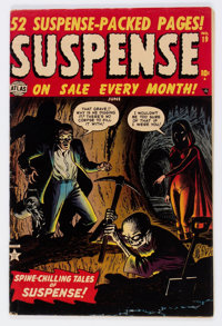 Suspense #19 (Atlas, 1952) Condition: FN