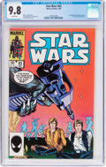 Modern Age (1980-Present):Science Fiction, Star Wars #93 (Marvel, 1985) CGC NM/MT 9.8 White pages....
