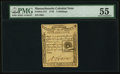 Colonial Notes:Massachusetts, Massachusetts 1779 4s PMG About Uncirculated 55.. ...