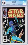 Modern Age (1980-Present):Science Fiction, Star Wars #96 (Marvel, 1985) CGC NM/MT 9.8 White pages....