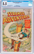 Golden Age (1938-1955):Science Fiction, Strange Adventures #54 (DC, 1955) CGC FN- 5.5 Off-white to whitepages....