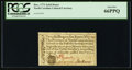 Colonial Notes:North Carolina, North Carolina December, 1771 2s6d House PCGS Gem New 66PPQ.. ...