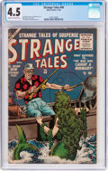 Golden Age (1938-1955):Horror, Strange Tales #40 (Atlas, 1955) CGC VG+ 4.5 Cream to off-whitepages....