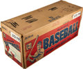Baseball Cards:Unopened Packs/Display Boxes, 1979 Topps Baseball Unopened Cello Case With Fifteen 24-CountBoxes! ...