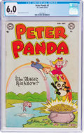 Golden Age (1938-1955):Funny Animal, Peter Panda #1 (DC, 1953) CGC FN 6.0 Off-white pages....