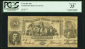 Confederate Notes:1861 Issues, T20 $20 1861 PF-5 Cr. 141 Plate State V.. ...