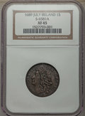 Ireland, Ireland: James II Trio of NGC Certified Gun Money,... (Total: 3 coins)