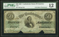 Confederate Notes:1861 Issues, T16 $50 1861 PF-16 Cr. 93.. ...