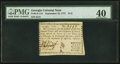 Colonial Notes:Georgia, Georgia September 10, 1777 $1/2 PMG Extremely Fine 40.. ...