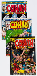 Bronze Age (1970-1979):Adventure, Conan the Barbarian #12, 13, and 22 Group (Marvel, 1971-73) Condition: Average VF/NM.... (Total: 3 Comic Books)