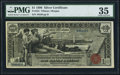 Large Size:Silver Certificates, Fr. 224 $1 1896 Silver Certificate PMG Choice Very Fine 35.. ...