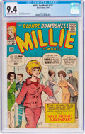 Silver Age (1956-1969):Humor, Millie the Model #123 (Atlas/Marvel, 1964) CGC NM 9.4 Off-white to white pages....