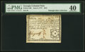 Colonial Notes:Georgia, Georgia June 8, 1777 $2/3 PMG Extremely Fine 40.. ...