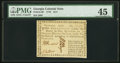 Colonial Notes:Georgia, Georgia 1776 $1/4 PMG Choice Extremely Fine 45.. ...