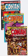 Bronze Age (1970-1979):Adventure, Conan the Barbarian #19, 21, and 24 Group (Marvel, 1972-73) Condition: Average VF+.... (Total: 3 Comic Books)