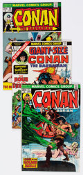 Bronze Age (1970-1979):Adventure, Conan the Barbarian Group of 48 (Marvel, 1973-78) Condition: Average FN.... (Total: 48 Comic Books)