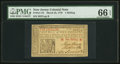 Colonial Notes:New Jersey, New Jersey March 25, 1776 1s PMG Gem Uncirculated 66 EPQ.. ...