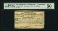 Colonial Notes:New Hampshire, New Hampshire Counterfeit November 3, 1775 30s PMG About Uncirculated 50.. ...
