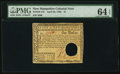 Colonial Notes:New Hampshire, New Hampshire April 29, 1780 $1 PMG Choice Uncirculated 64 EPQ.....