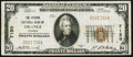 National Bank Notes:Virginia, Orange, VA - $20 1929 Ty. 1 The Citizens NB Ch. # 7150. ...