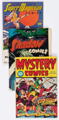 Golden Age (1938-1955):Miscellaneous, Golden Age Miscellaneous Comics Group of 12 (Various Publishers, 1940s) Condition: Average GD/VG.... (Total: 12 Comic Books)